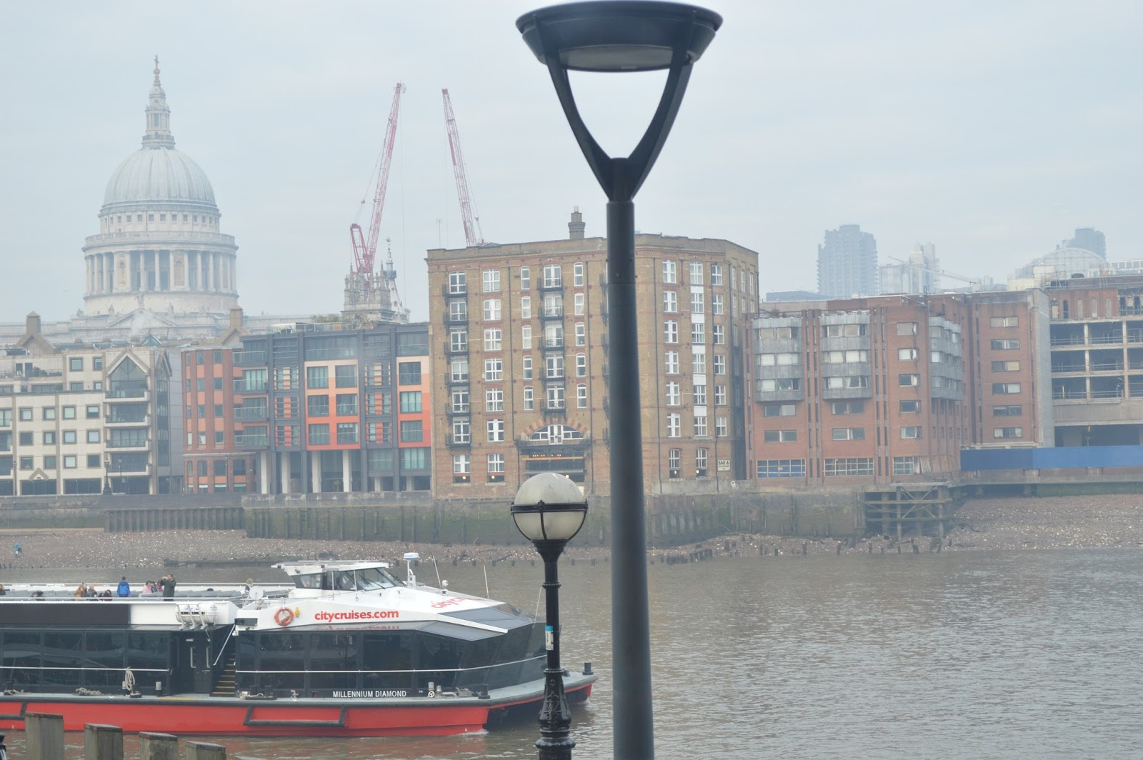 London view St Pauls Cathedral Bankside Thames London Tailored Tours