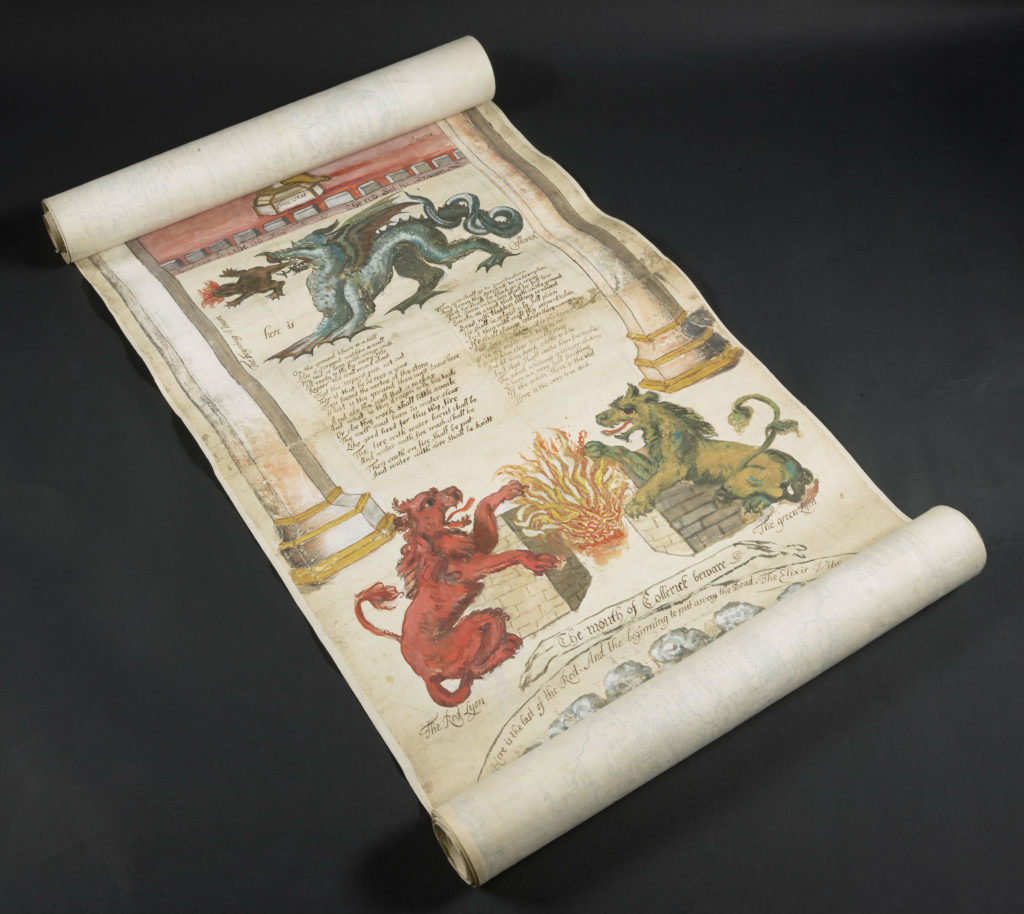 Scroll London Tailored Tours Harry Potter exhibition British Library