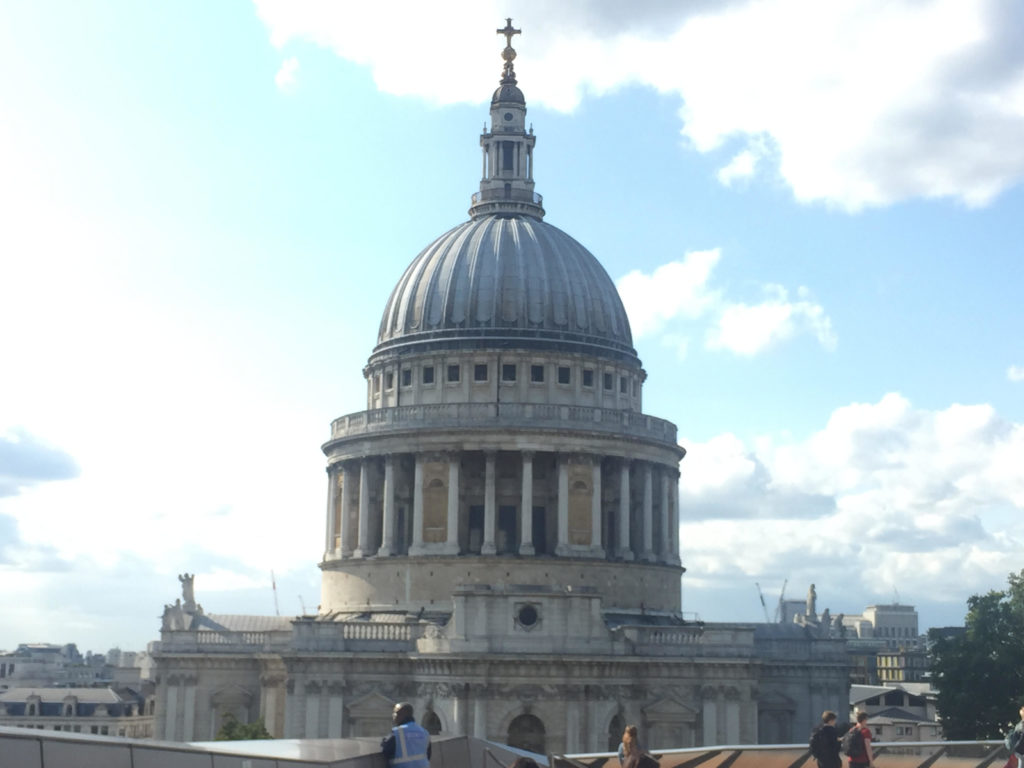 London View St pauls cathedral One New Change London Tailored Tours